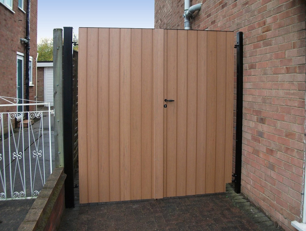 Composite Cladding Gates Photo Gallery Safe Amp Secure