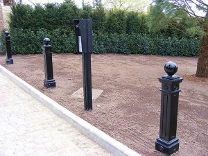 Fixed Roadside Bollards