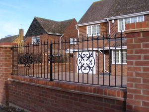 Iron Railings Knebworth